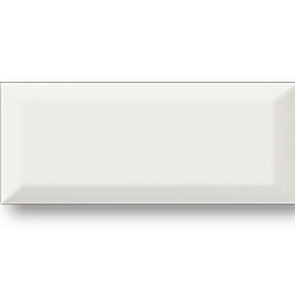 Bone Beveled 4x10 Tile
