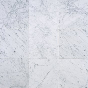 Carrara Marble HONED 12×12