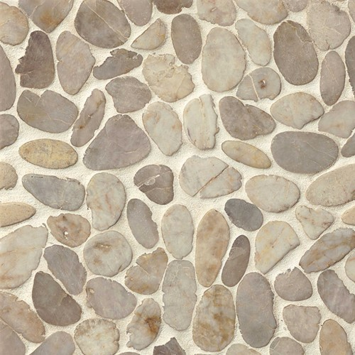 Creekside Fatima Cream Sliced Pebbles Polished DECHEMSP-FC_1000